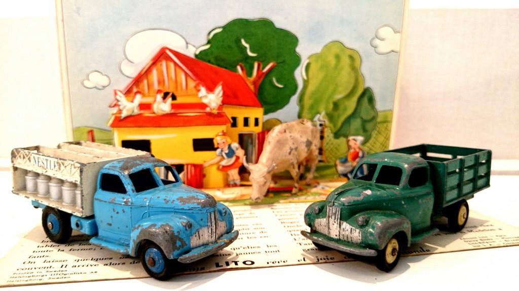 dinky toys ferme
